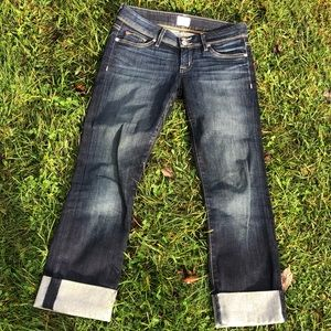 Hudson cropped jeans 27